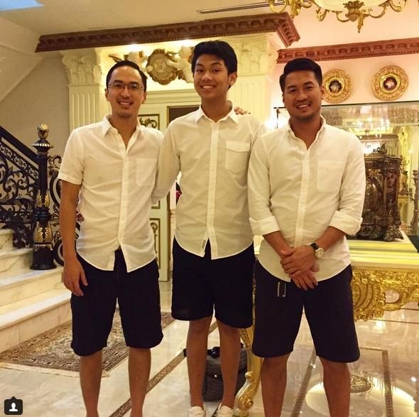 Em trai út Hiếu Nguyễn cao hơn cả 2 ông anh. Ngoài Philippines thì Louis Nguyễn và Phillip Nguyễn, bố chồng Hà Tăng còn có 1 cậu con cả Henry Nguyễn hiện đã lập gia đình và quản lý công việc kinh doanh tại Manila.