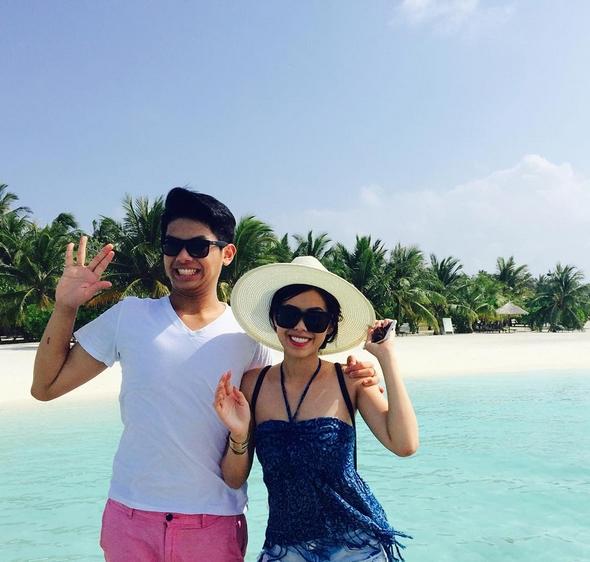 Thảo Tiên và Hiếu Nguyễn là con của người vợ thứ hai của bố chồng Hà Tăng - nữ diễn viên Thủy Tiên.