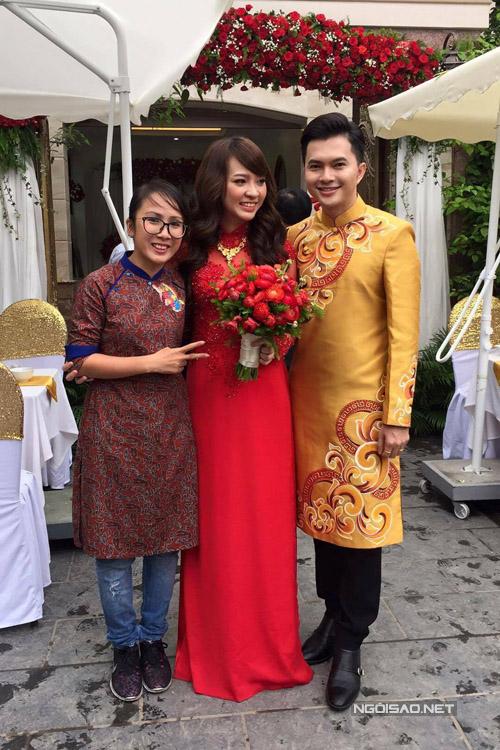 Người quản lý của Nam Cường cũng từ TP HCM bay ra Hà Nội dự lễ cưới của anh.