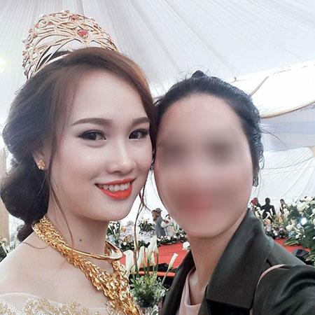 Cận cảnh nhan sắc cô dâu 20 tuổi xinh đẹp như hotgirl - Minh Nguyệt và chân dung chú rể nhà đại gia Nguyễn Khoa