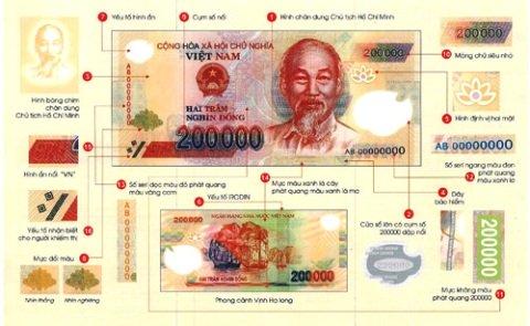 Tiền mệnh giá 200.000 đồng