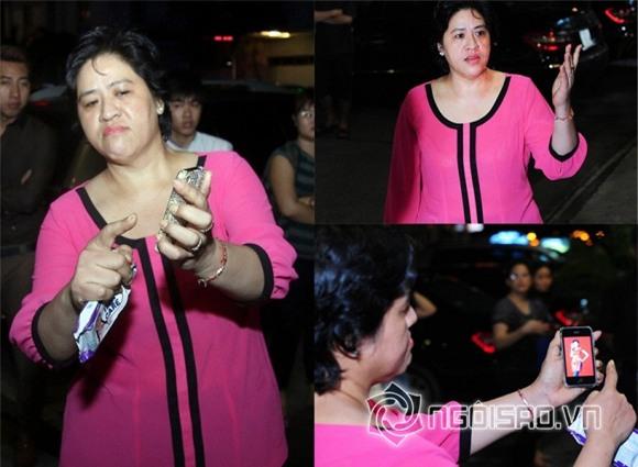 Mẹ Hoa hậu Diễm Hương bêu xấu con nơi đông người.