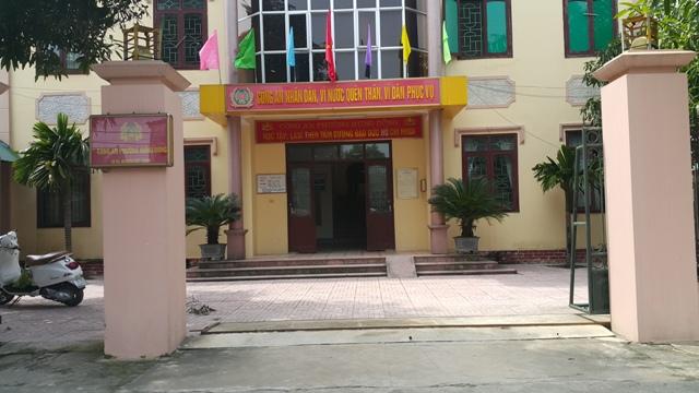 Trụ sở Công an phường Hưng Dũng