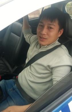 Anh Đặng Văn Hồng, lái xe của hãng taxi Ba Sao