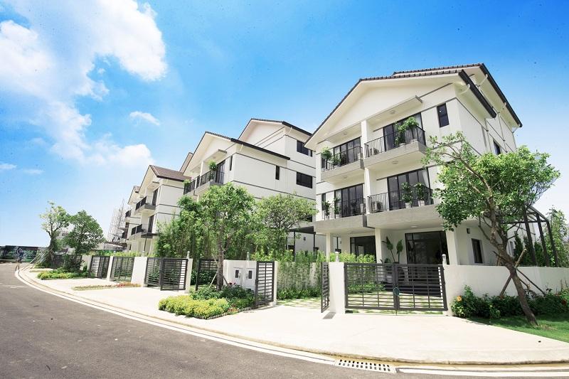 Tiểu khu Long Cảnh được đánh giá là có vị trí đắt giá và địa thế đẹp nhất dự án Vinhomes Thăng Long.
