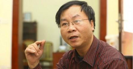 Chuyên gia kinh tế Vũ Đình Ánh. Ảnh TL