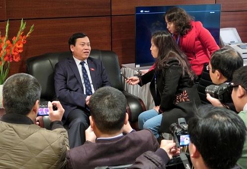 Ông Vũ Trọng Kim, Ủy viên Trung ương Đảng, Phó Chủ tịch, Tổng thư ký Uỷ ban Trung ương Mặt trận Tổ quốc Việt Nam. Ảnh ĐCSVN