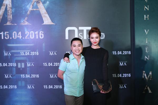 Don Nguyễn và ngọc nữ Ninh Dương Lan Ngọc.