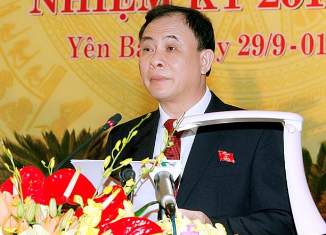 Ông Phạm Duy Cường, Bí thư tỉnh ủy Yên Bái. Ảnh tư liệu