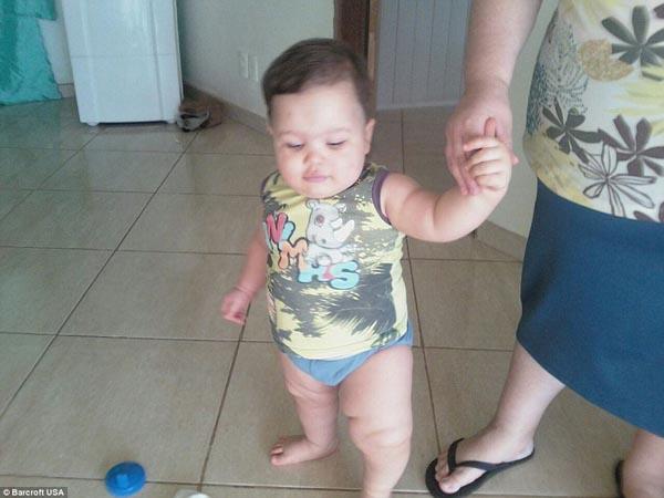 Misael là một đứa trẻ bụ bẫm, thừa cân từ khi còn nhỏ.