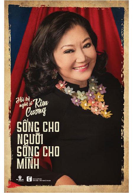 Bìa cuốn hồi ký của NSND Kim Cương (ảnh nhân vật cung cấp).