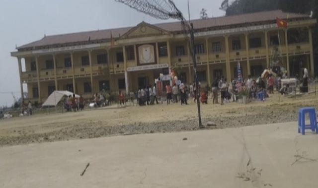 Trường La Pan Tẩn nơi xảy ra vụ bảo vệ dâm ô với nhiều bé gái. Ảnh Từ Huy