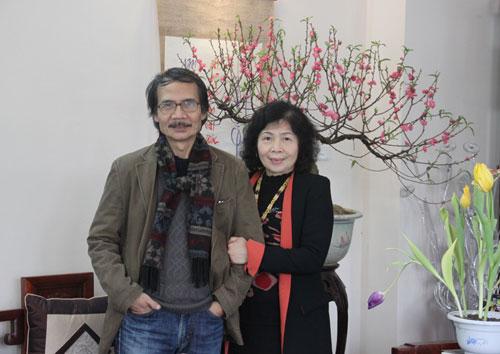 Vợ chồng GSTS Đặng Cảnh Khanh