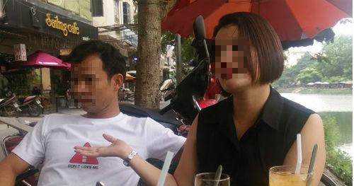 Người chồng và cô nhân tình đang trần tình với báo chí sau khi bị cả làng đánh ghen tại Bắc Ninh. Ảnh tư liệu
