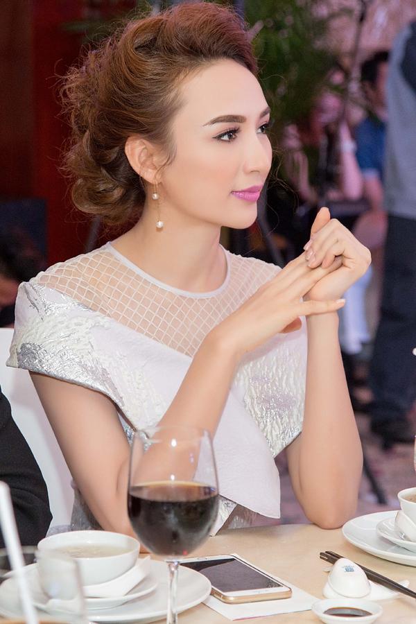 Sau khi công khai con gái Chiko, Ngọc Diễm thường xuất hiện cùng con trong một số sự kiện cuối tuần.
