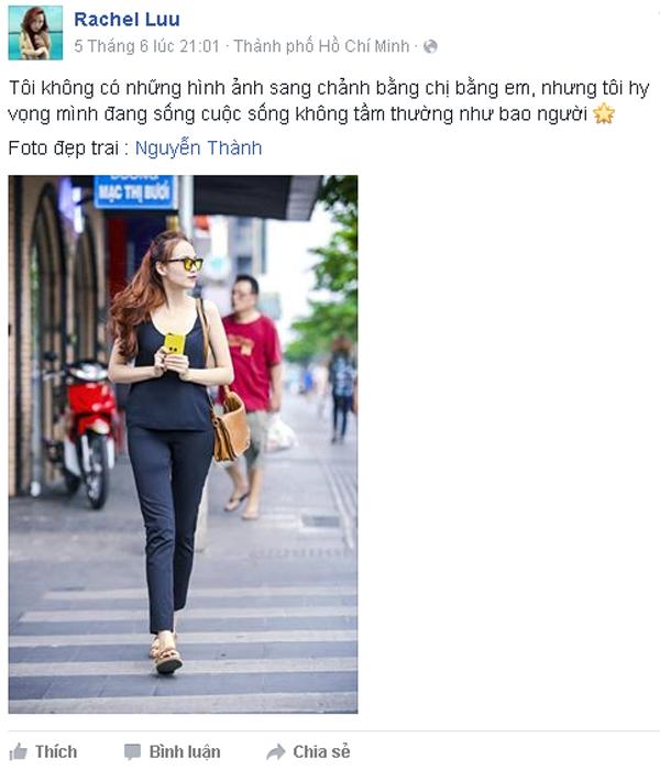Diễm Hương được xem là cô gái dũng cảm khi bỏ qua cuộc sống nhung lụa để tìm cuộc sống bình thường bên tình yêu đích thực.