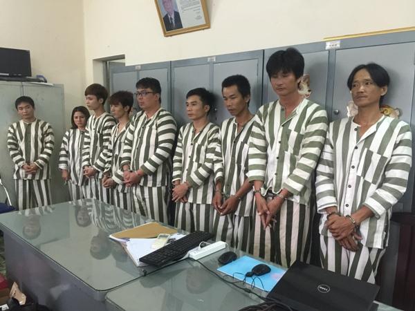 Một nhóm đối tượng lừa đảo tiền qua điện thoại bị Công an TP. HCM bắt giữ. Ảnh tư liệu