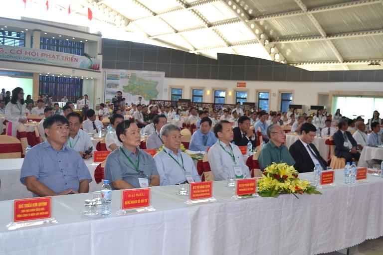 Hội nghị thu hút nhiều nhà đầu tư trong và ngoài nước. Ảnh: Đ. Tuỳ