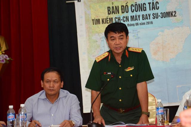 Thượng tướng Võ Văn Tuấn chủ trì cuộc họp