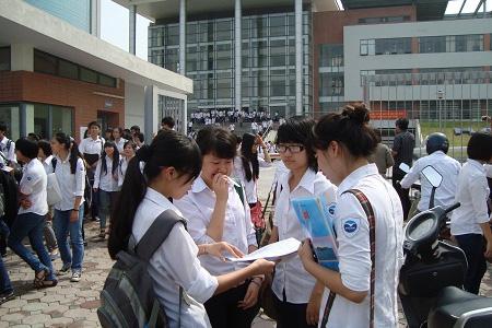 Bộ GD&ĐT đã chính thức công bố điểm sàn đại học 2016. Ảnh: Q.Anh