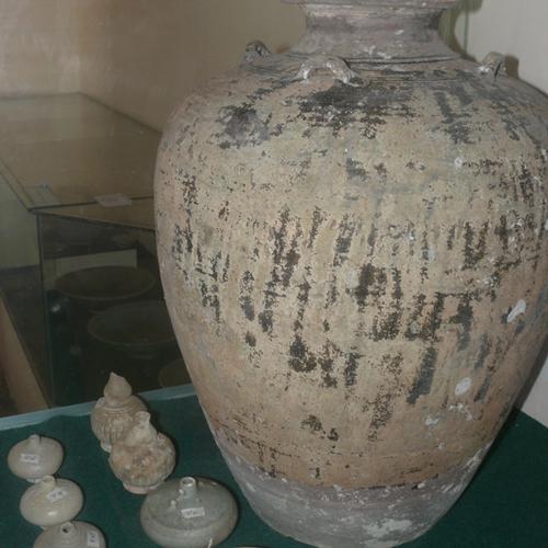 Một trong những hiện vật thu được từ con tàu cổ vùng biển Phú Quốc, Kiên Giang (Bảo tàng Kiên Giang)