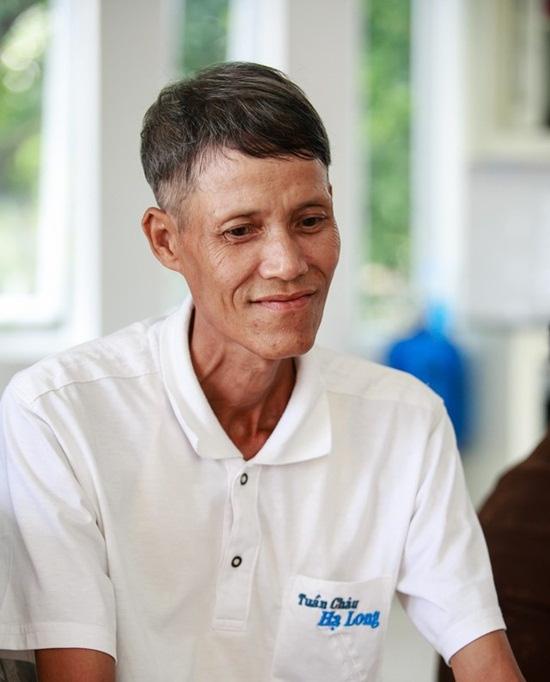 Bố của Phạm Hượng chân chất, mộc mạc đậm chất nông dân.