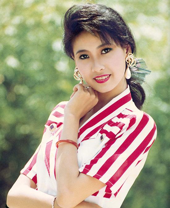 Hoa hậu Hà Kiều Anh những năm 1990