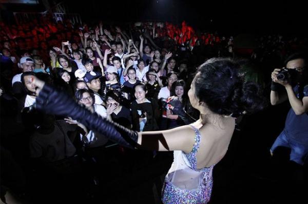 Bức ảnh Hà Linh đưa ra chứng minh được khán giả ủng hộ
