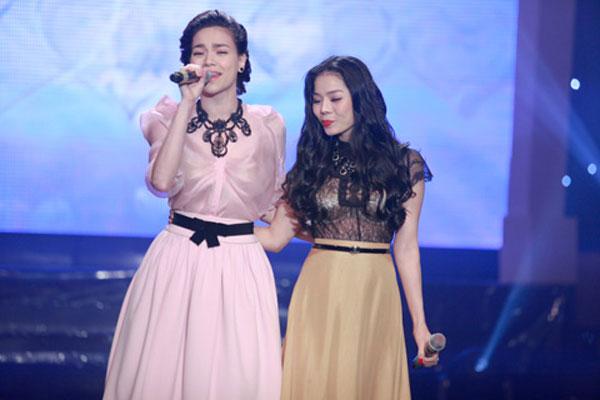 Lệ Quyên đã không ngần ngại mời Hà Hồ tham gia liveshow đầu tiên người đẹp tổ chức tại Hà Nội vào mấy năm trước.