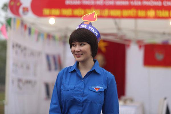 Người đẹp hiện đang công tác ở một trường đại học tại Hà Nội.
