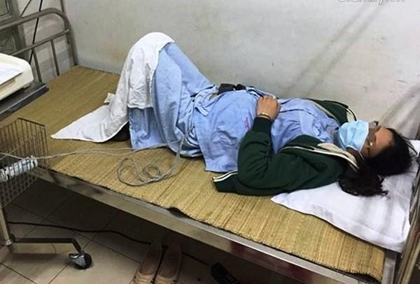 Chị D (vợ anh Hưng) đang được điều trị tích cực tại bệnh viện Phụ sản Trung ương