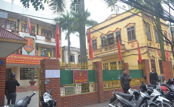 Trụ sở công an TP Hải Dương, nơi anh Trần Huy Cường công tác. Ảnh: Đ.Tuỳ