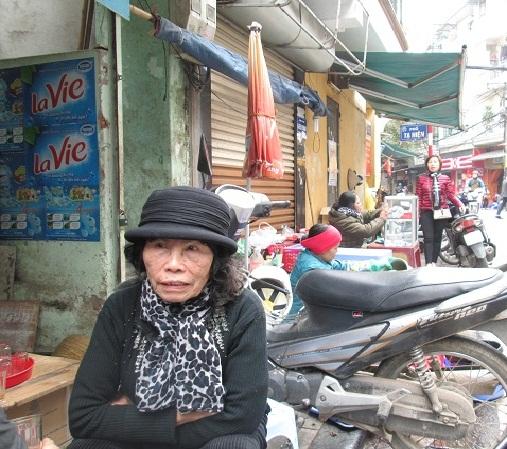 Bà Nguyễn Thị Lâm (78 tuổi)l, sinh ra và lớn lên ở Hà Nội. Ảnh: N.Thuyết