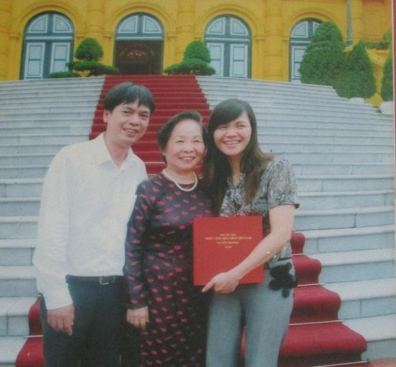 Anh Ánh, chị Phương (ảnh gia đình cung cấp)