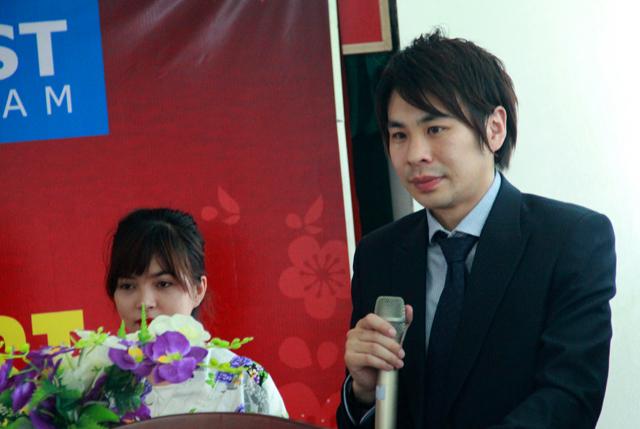 Ông Show Asano khẳng định tầm quan trọng của kỳ thi đánh giá năng lực tiếng Nhật trước khi có thể qua Nhật Bản du học