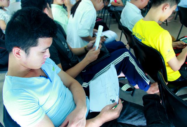 Kỳ thi năng lực tiếng Nhật J-TEST là kỳ thi uy tín, thu hút nhiều đối tượng dự thi