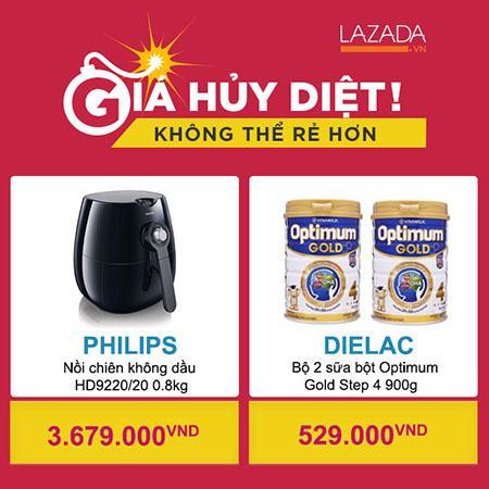 Nhiều sản phẩm Hot siêu giảm giá chỉ có tại Lazada