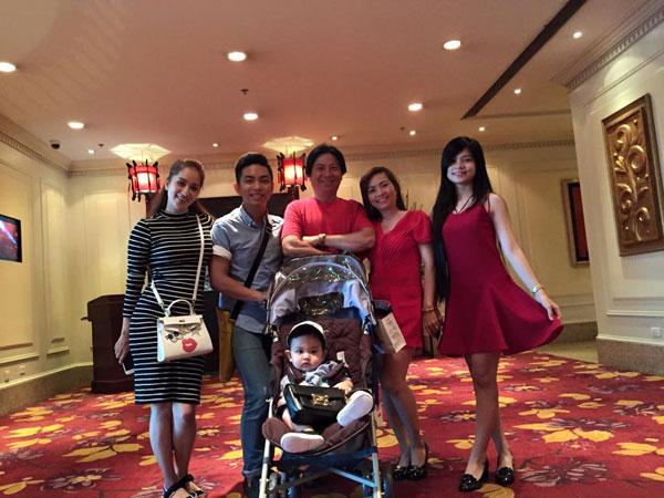 Khánh Thi và Phan Hiển luôn được gia đình ủng hộ về chuyện tình cảm.