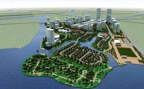 Dự án KĐT Xi măng Hải Phòng là dự án trọng điểm của thành phố được người dân kỳ vọng thay đổi diện mạo đô thị thành phố Cảng. Ảnh: HP