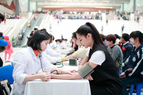 Nguyễn Thị Loan chia sẻ mong muốn khỏe mạnh để tham gia chương trình được nhiều lần hơn nữa.