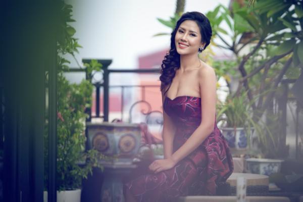 Nguyễn Thị Loan ngày càng trưởng thành và đạt được độ chín sau 6 năm thi Hoa hậu Việt Nam 2010.