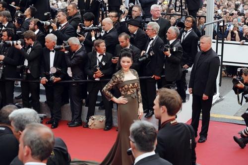 Lý Nhã Kỳ tại LHP Cannes