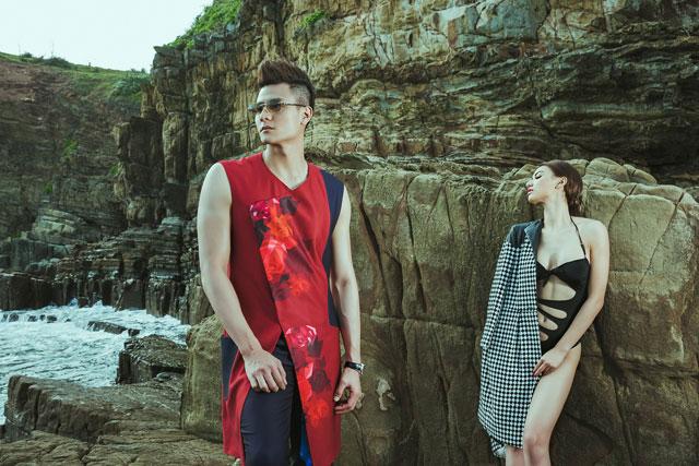 Cặp người mẫu có sự trở lại đầy mới mẻ và cá tính.