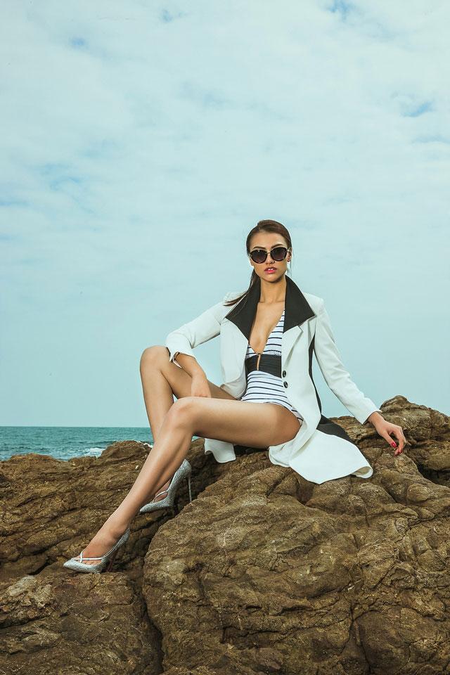 Hồng Quế đã có sự trở lại ấn tượng trong Bước nhảy Hoàn Vũ và hiện tại cô quyết tâm cho công việc mẫu của mình.