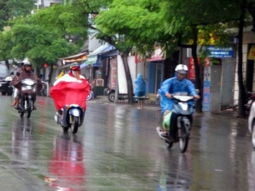 Miền Bắc sẽ có mưa to và dông mạnh trong các ngày tới. Ảnh: TT