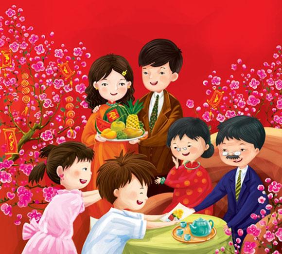 Chúc Tết là một nét đẹp truyền thống trong những ngày Tết Nguyên đán