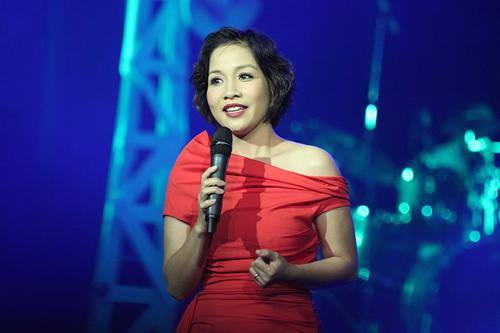 Mỹ Linh trong đêm nhạc Thanh Tùng