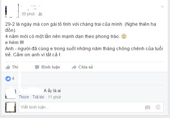 Ảnh chụp màn hình Facebook