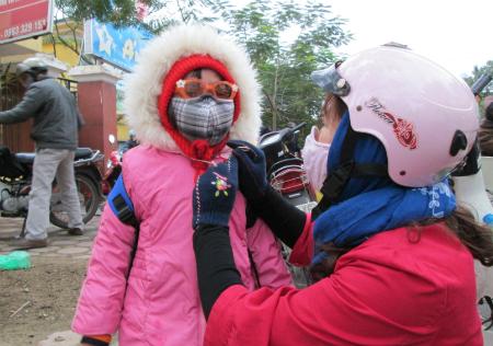 Sở GD&ĐT Hà Nội quy định cho học sinh nghỉ học khi nhiệt độ dưới 10 độ.