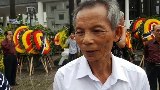 Bác Lương Đình Hải, anh rể đại tá Trần Quang Khải.